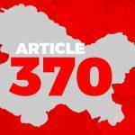 Special Status of Jammu & Kashmir - Article 370 1