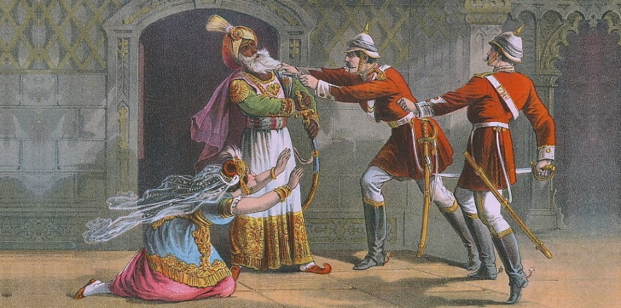 Later Mughals  bahadur shah zafar