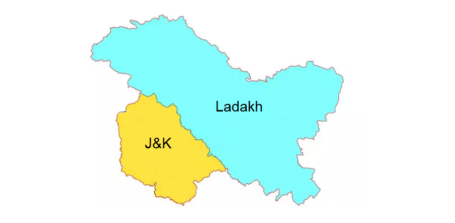 J&K and Ladakh