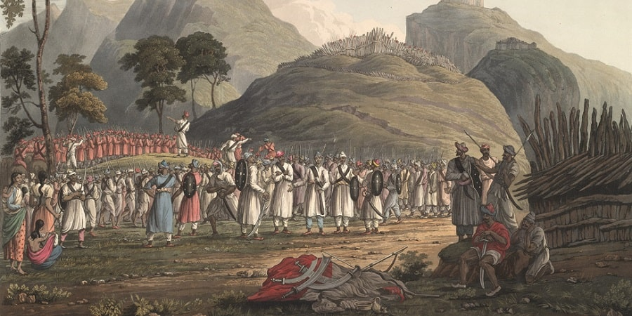 Anglo-Nepalese war