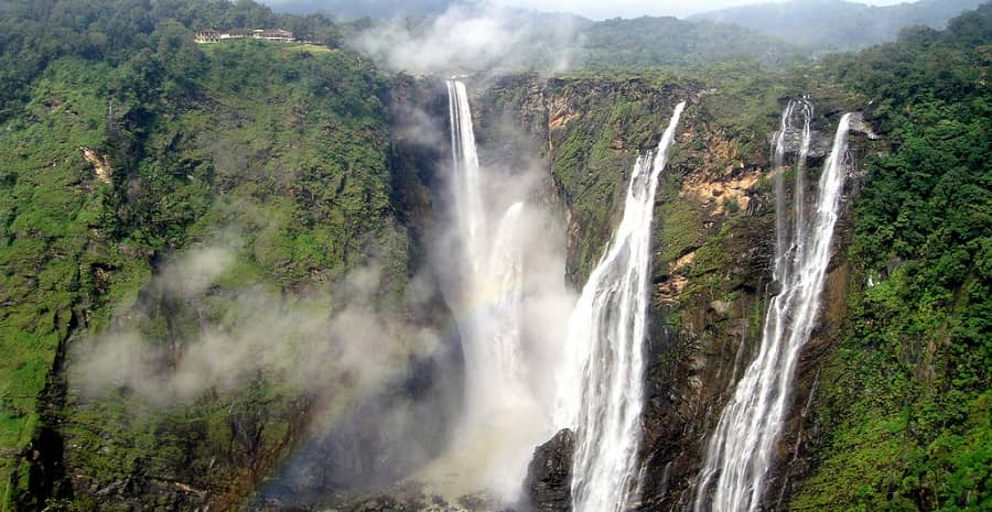 Jog falls Sharavati River