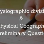 Physical Geography WBCS Preliminary Question Paper